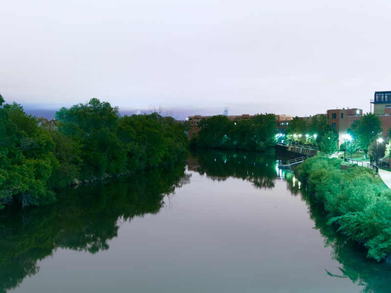 Chicago River (North Branch) at North Western Avenue, Chicago, 2011
