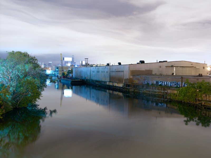 Chicago River (North Branch) at West Fullerton Avenue, Chicago, 2011