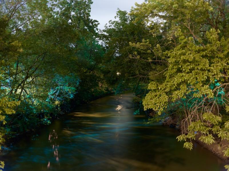 Chicago River (North Branch) at North Kedzie Avenue, Chicago, 2011