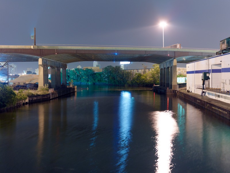 Chicago River (South Branch) at South Halsted Street, Chicago, 2011