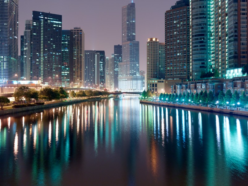 Chicago River (Main Stem) at North Lake Shore Drive, Chicago, 2011