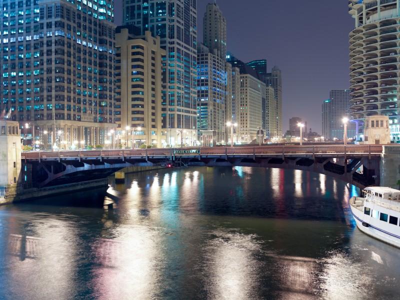 Chicago River (Main Stem) at North Wabash Avenue, Chicago, 2011