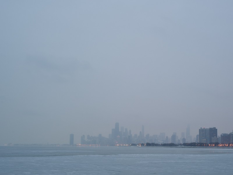 Lake Michigan, Chicago, 2011