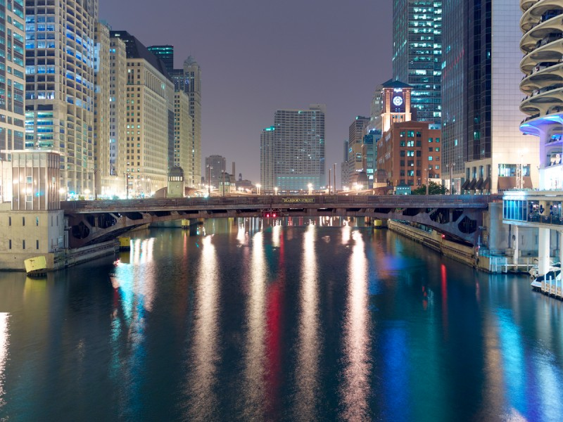 Chicago River (Main Stem) at North State Street, Chicago, 2011