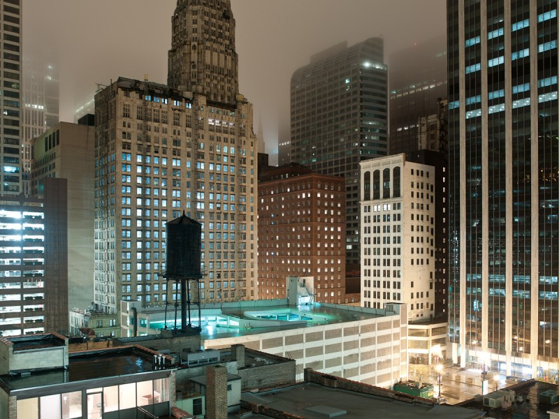 Franklin Street at Lake Street, Chicago, 2011