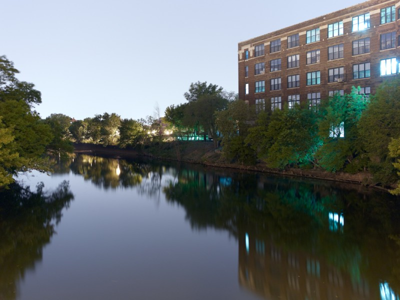 Chicago River (South Branch) at West 35th Street, Chicago, 2011