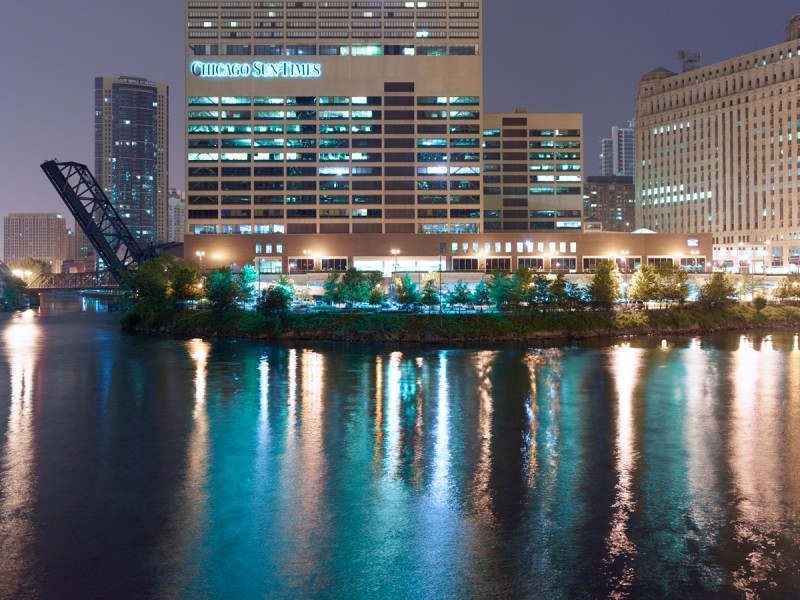 Chicago River (South Branch) at West Lake Street, Chicago, 2011