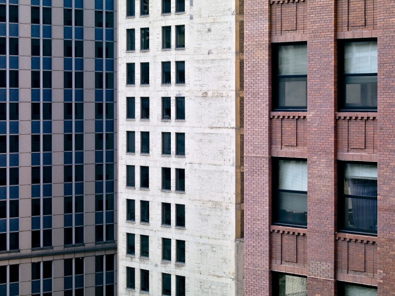 Lake Street at Wells Street, Chicago, 2008